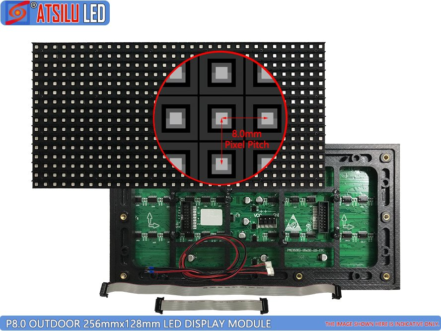 P8mm Outdoor LED Display Module
