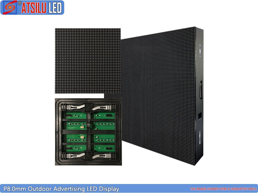P8.0mm Outdoor Advertising LED Display