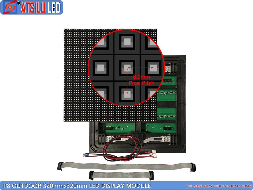 P8mm Front Access LED Module