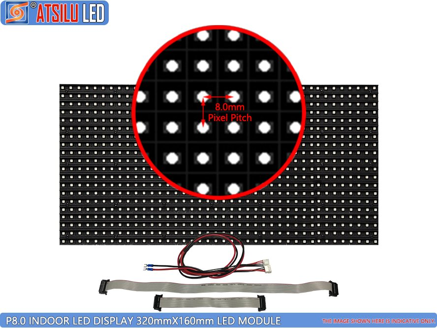 P8mm SMD3528 Módulo LED de LED para interior