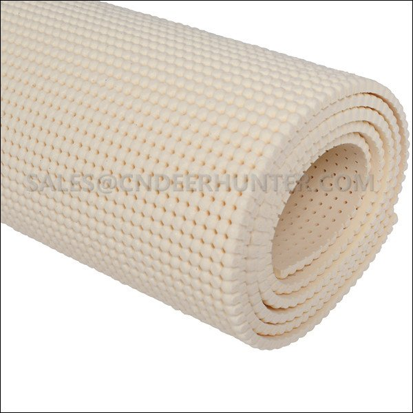 Perforated Silicone Sponge Pad - Beige Color