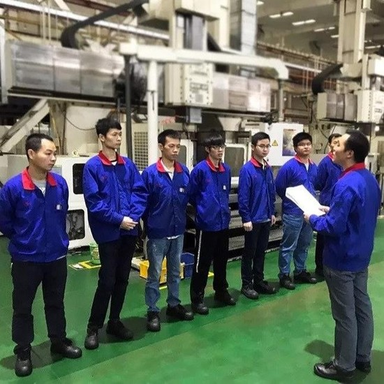 Plastic mold factory depth study of Wu in the high-level training exchange meeting important speech