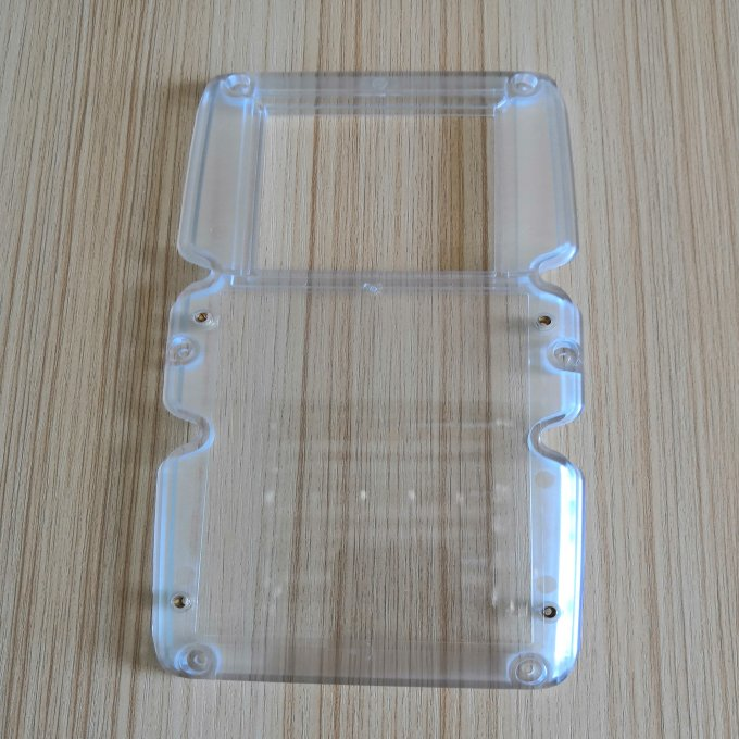 Clear plastic parts of card reader, large plastic part tooling service