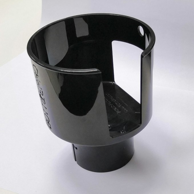Black ABS Vehicle cup holder, ABS/PC plastic parts mold