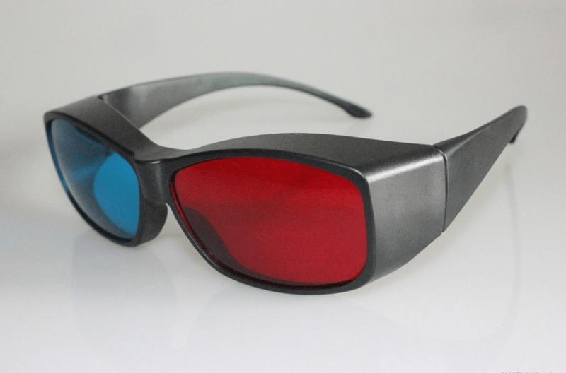 rot blau 3D Brille