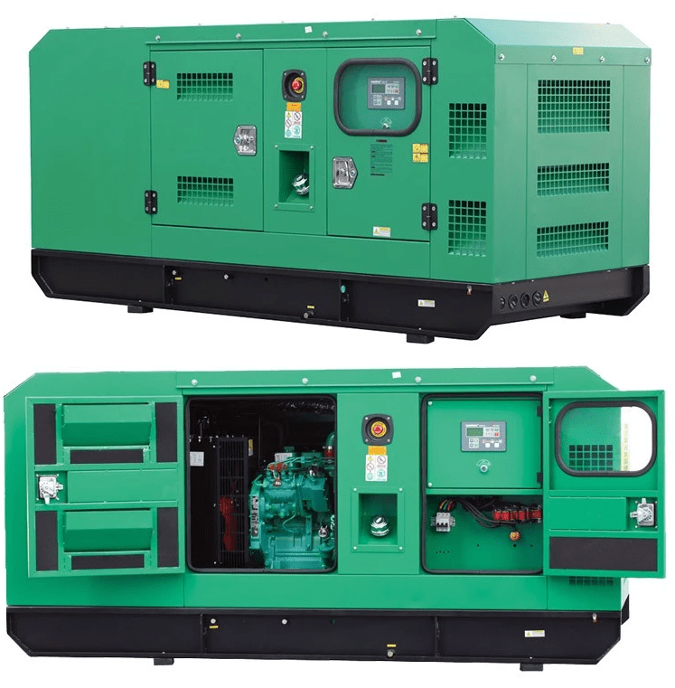 Generator Set Power By Cummins Engine
