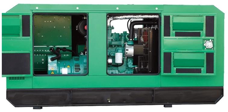 Высококачественная бесшумная дизель-генераторная установка