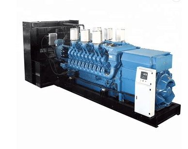 High-Performance Open Diesel Generator Set