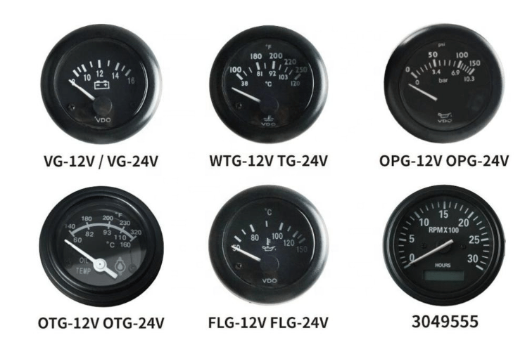 VDO OIL PRESSURE GAUGE
