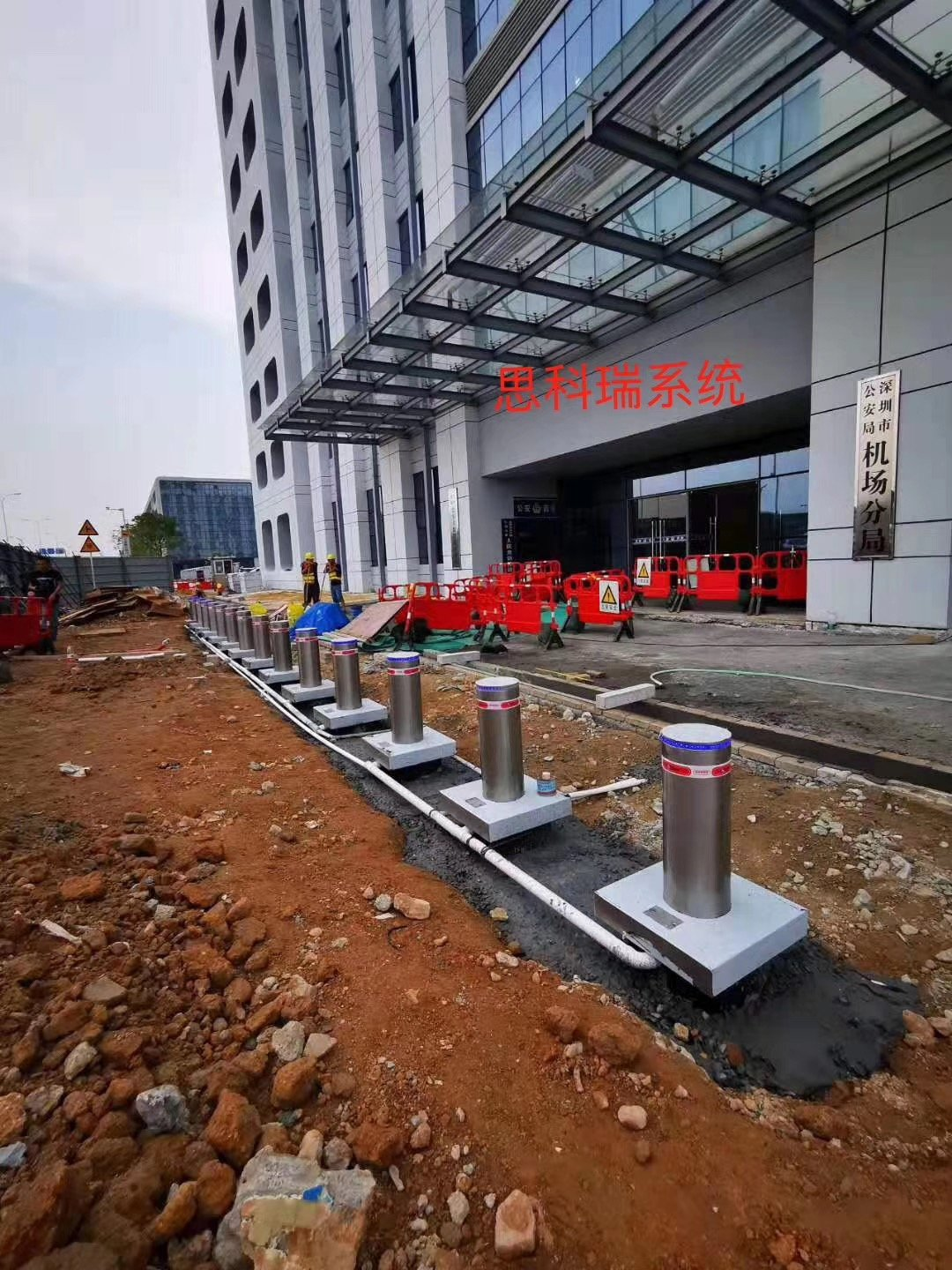 automatic bollards project