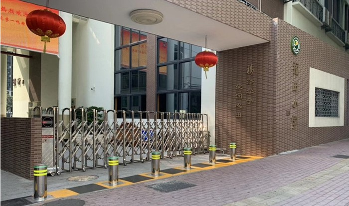 Rising Bollards New Projects  in April 2019