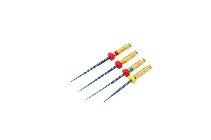 Rotary files Dental Instruments  heat treatment S Blue B1