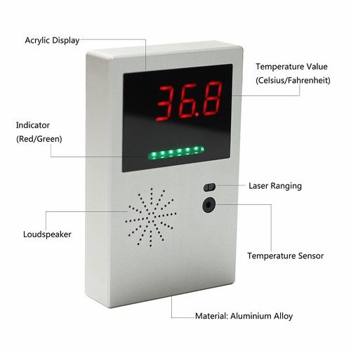 Body Temperature Detector LED Infrared box with SE101-I