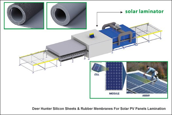Silicone Membranes For Solar PV Panel Laminators