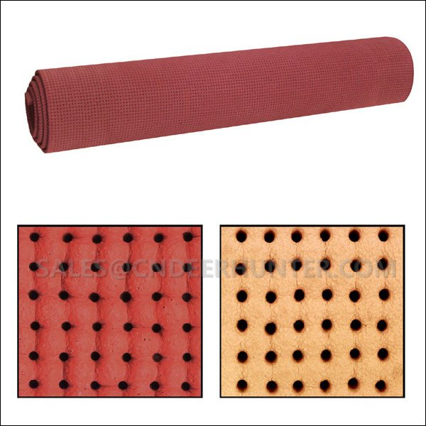 Silicone Foam Pad Perforated Sponge For Vacuum Ironing Table