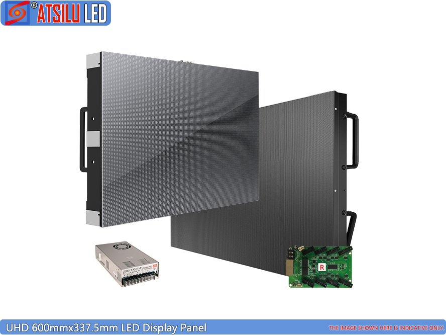 600mmx337.5mm LED Display Panel Small Pixel Pitch