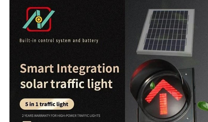 Smart Integration Solar Traffic Light Εισαγωγή