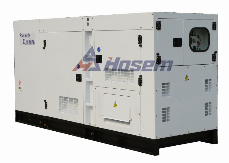 Soundproof and Waterproof Diesel Generator for Outdoor Use