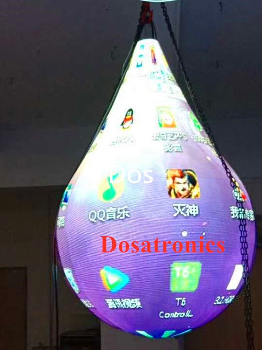 special shape LED display