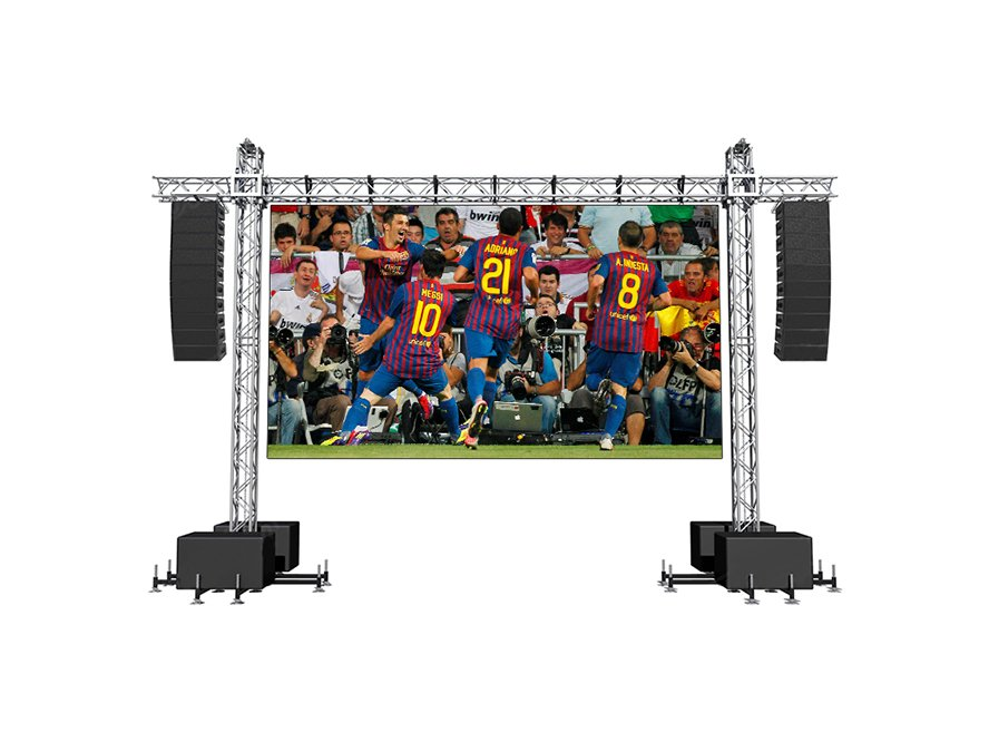 Pared de video LED para estadio