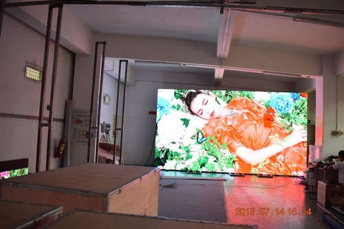 Stage LED Display of 2.9mm 500x500 mm Adjustable Angle LED Panel