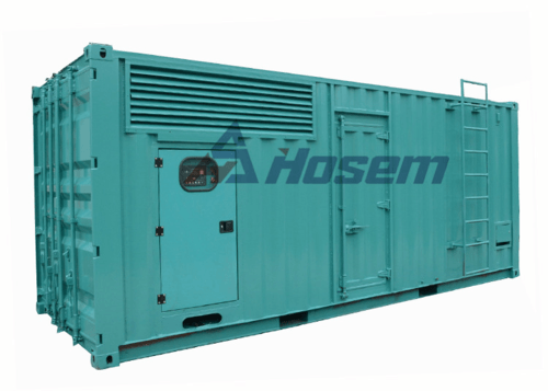 Standby Generator 1000kVA With Cummins Engine KTA38-G2A and Leroy Somer Alternator