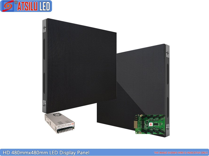 High-Definition 480mmx480mm LED Display Panel