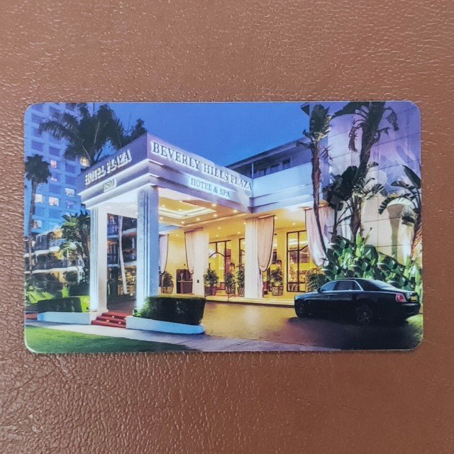 T5577 card used in hotel