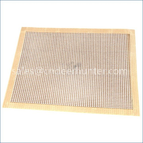 BBQ Baking Dish For Grill Reusable Teflon Barbecue Mesh Mat