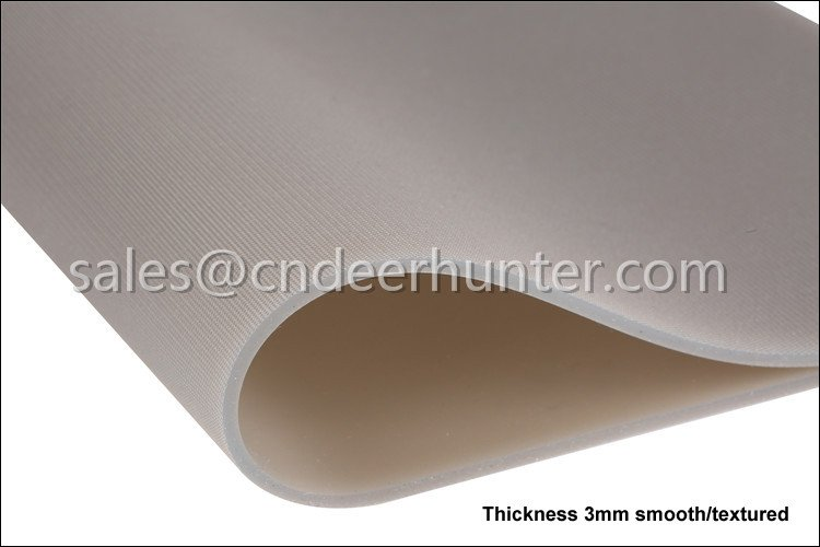 Thickness 3mm Textured Silicone Membrane Sheet For Vacuum Press