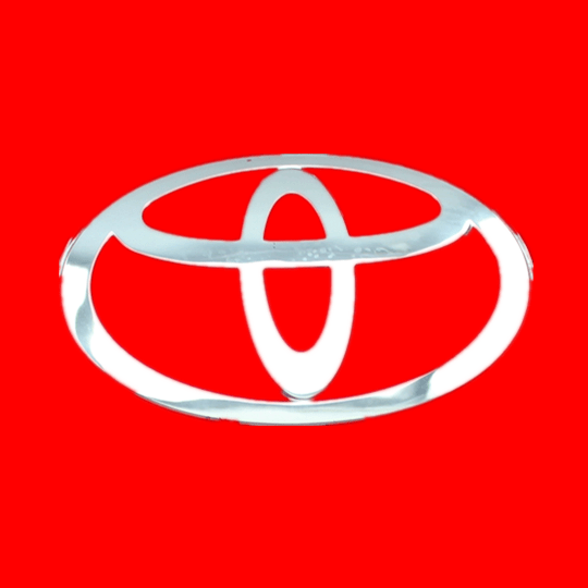 Toyota logo - UG injection mold design case3