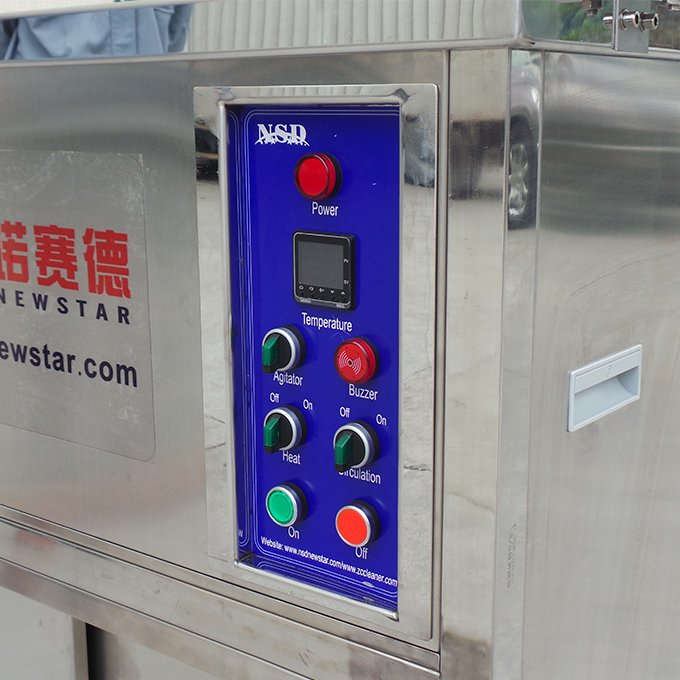 Ultrasonic Cleaner for Metal Parts Cleaning with Agitator and Circulation