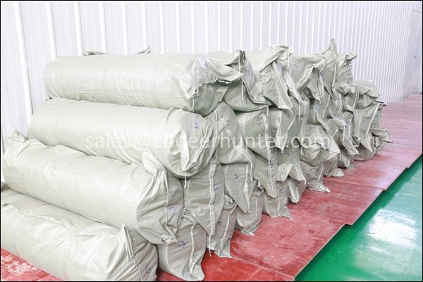 Woven bags packing for ironing table silicone foam sheets