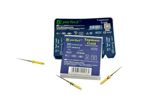 ProTaper Rotary Files compatible to ProTaper Gold TG6 T2