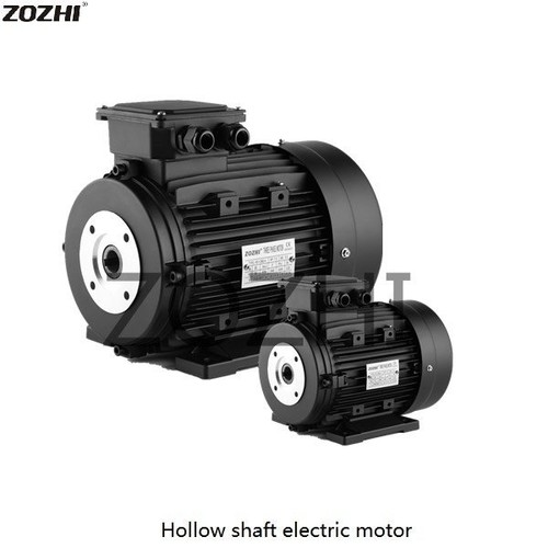 Hollow shaft electric motor 112M2-4 For Cleaning Machine
