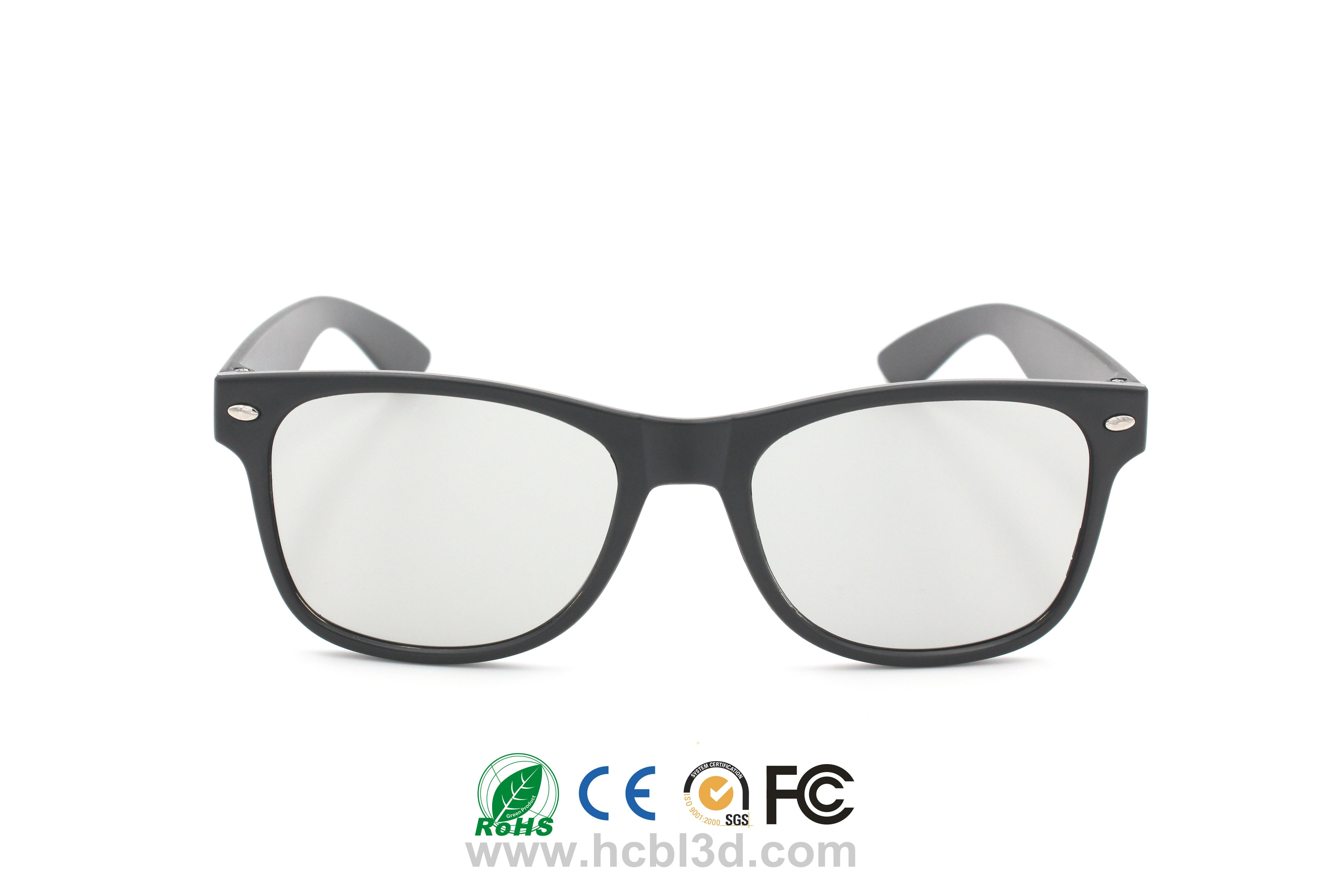 Reusable Polarized 3D Glasses for highly cost effective