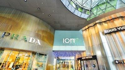 LianTronics Fine-pitch LED Display Lights up at Ion Orchard, Singapore