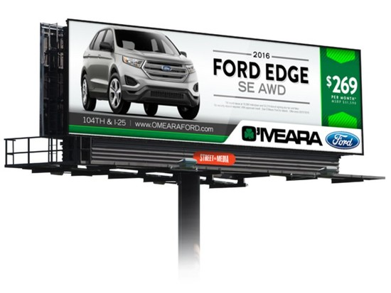 Outdoor Fixed Digital LED Billboard Project and Solution