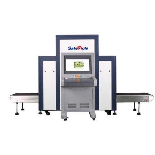 Airport Security Baggage Scanner Large Tunnel Opening to Detect Larger Hold Baggage