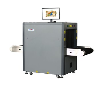 Baggage X Ray Machine F6550C in Lower X-ray Leakage 0.1µGy/h