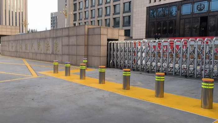 Rising Bollards and Road Blocker Project-Latest Projects in 2019