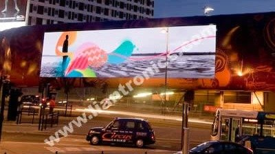 206sq.m Outdoor full color display in Liverpool Bus Station