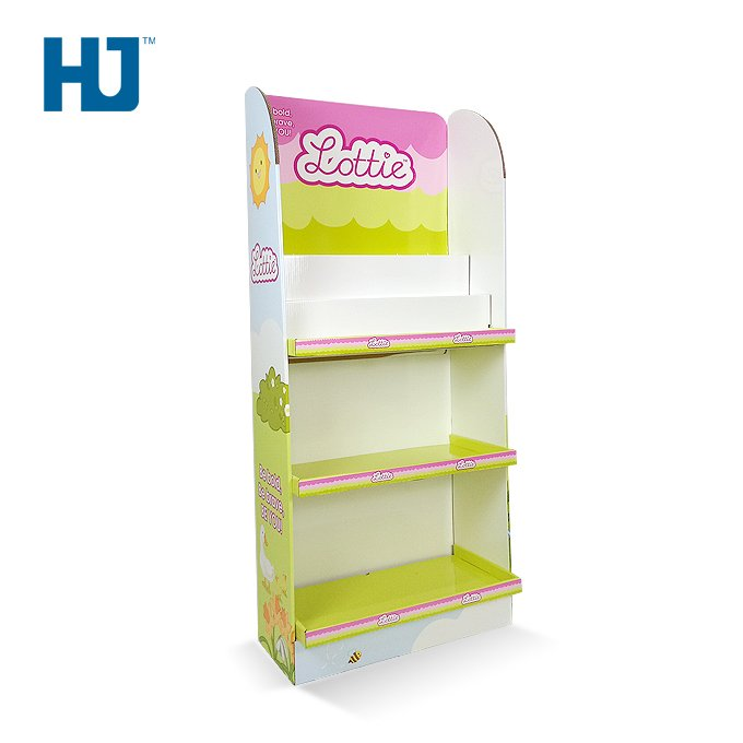 doll cardboard display stand