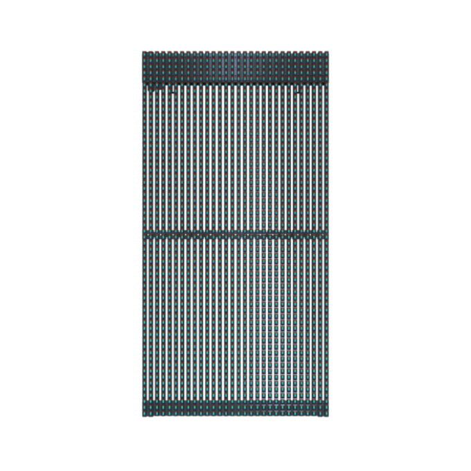 Outdoor LED Mesh Displays for any Building Facade With Super Slim Design 7KG/panel