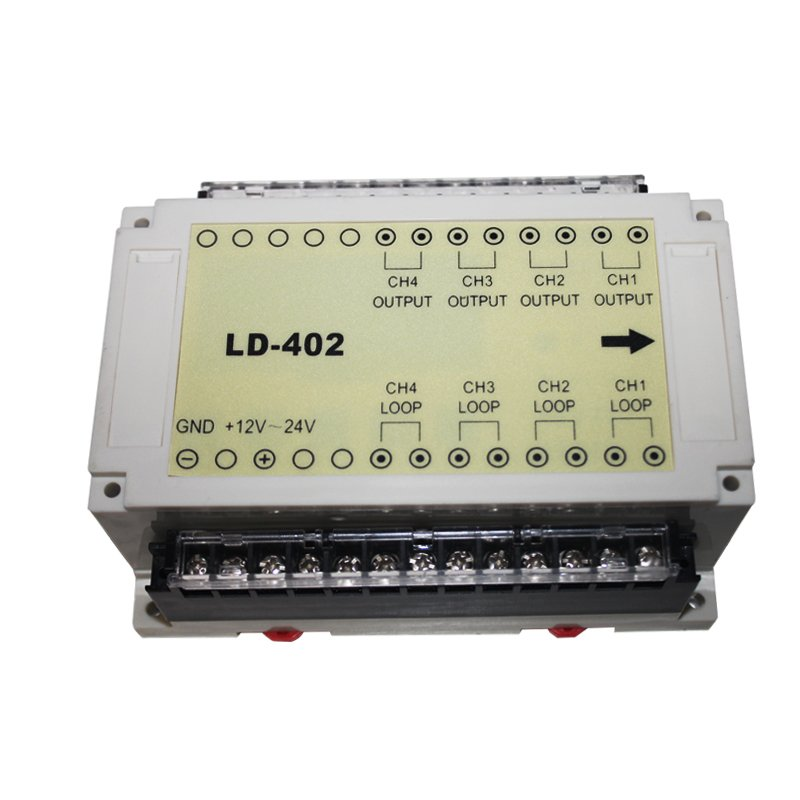 four channel traffic detector
