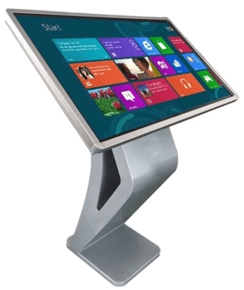 55 inch touch screen kiosk with popular K style