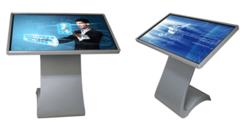 "49"" touch screen kiosk with popular style"