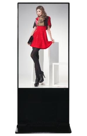 "43"" floor-standing digital signage with hot sale classical style"