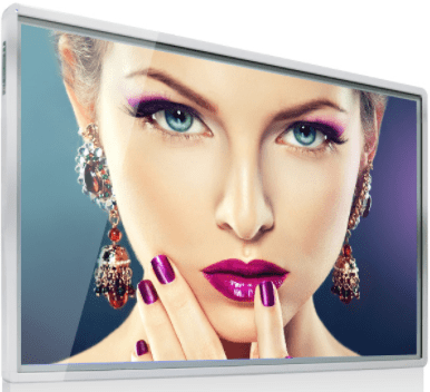 "43"" wall mounted digital signage with wifi ultra-thin small corner style"