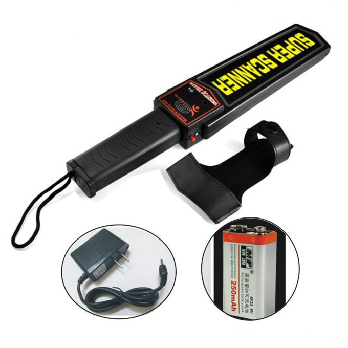 Metal Detector - MD-3003B1 hand-held metal detector for Body Check